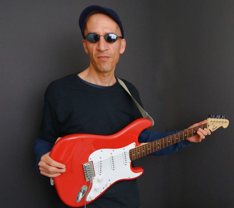 Howie Moscovitch red guitar